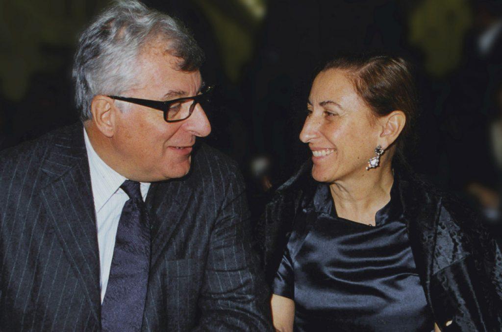 miuccia prada biografia  y su esposo