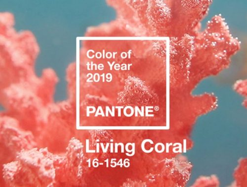 Pantone 2019 color del año Living Coral