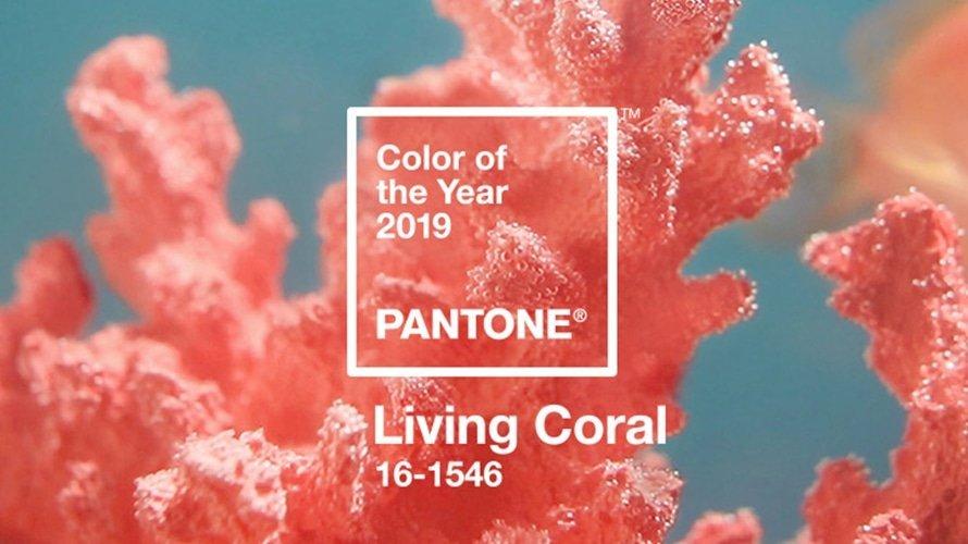 Pantone 2019 color del año Living Coral