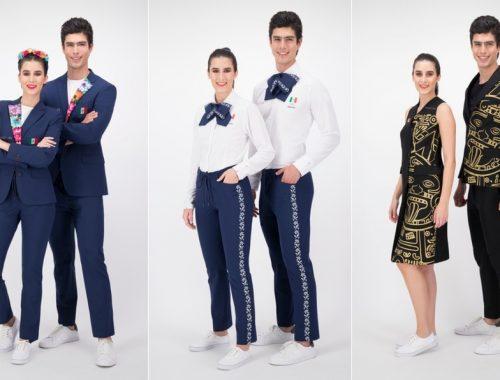 quien diseño los uniformes del comite olimpico mexicano