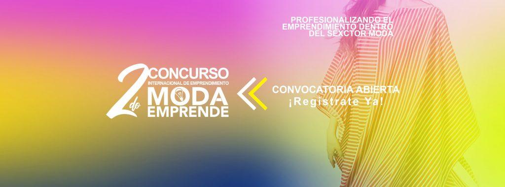 concurso internacional de emprendimiento en moda