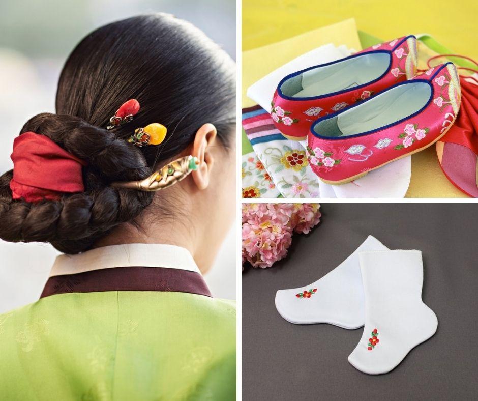 accesorios del hanbok